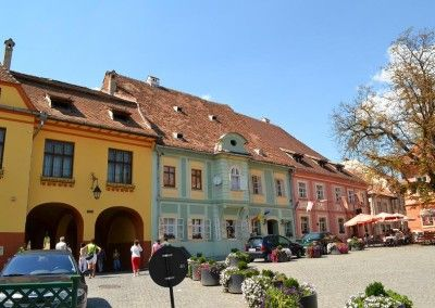 Sighisoara Central Square