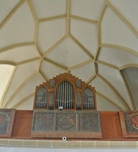 Church on the Hill - Sighisoara - Organ