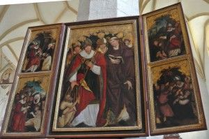 Church on the Hill - Sighisoara - Saint Martin Altarpiece