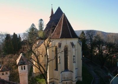 Sighisoara Top of the Hill Church
