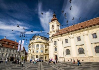 Big Square in Sibiu Romania