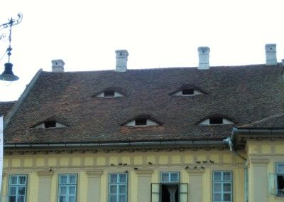 traditional roofing in Sibiu