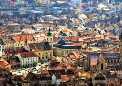 The capital of Transylvania