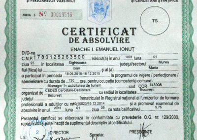 Tourism Manager Diploma