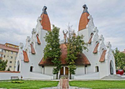 Tibor-Takács-Millennium-Church-Csikszereda