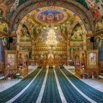 Ortodox Monastery Sighisoara inside