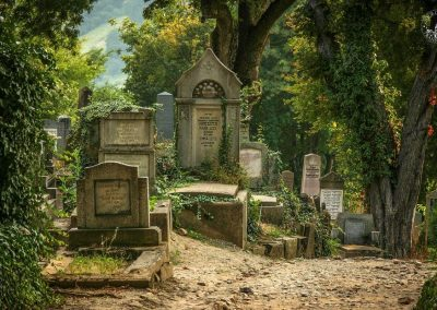 Transylvania-Cemetery