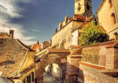 Sibiu walls