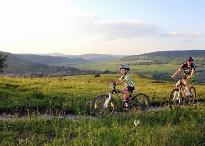 Cycling tour around Sighisoara 2