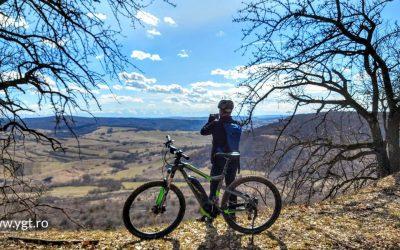 Cycling around Sighisoara
