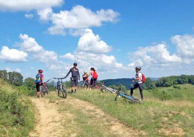 Cycling tour around Sighisoara