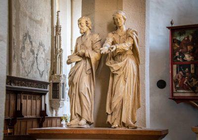 Evangelists statues 1