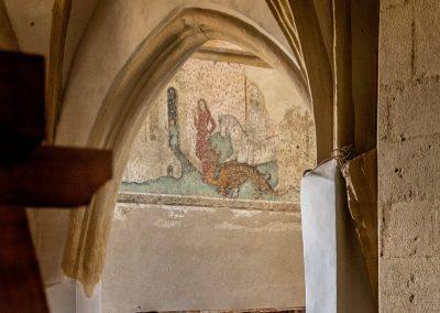 Saint George frescoe