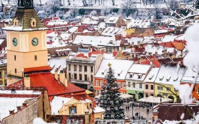 Brasov – 10 best winter pictures on Instagram