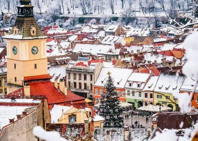 Aerial image of Brasov City Center